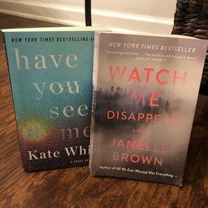 Pair of Suspense Novels